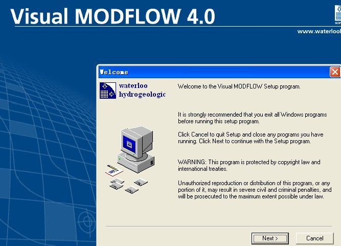 Visual MODFLOW 4.0